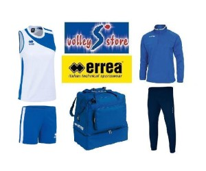 Errea Box Basic Woman White-blue