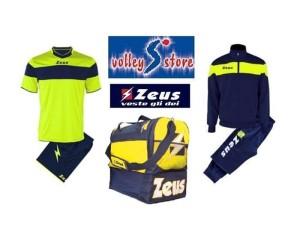 Zeus Box Basic Man Yellow-navy